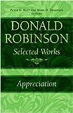 Donald Robinson. Appreciation: Also: Donald Robinson