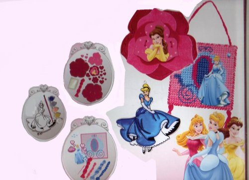 Disney Princess 3 in 1 Activity Kit - 1