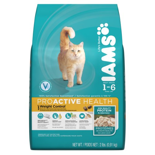 Iams Pro Active Health Adult Weight Control Premium Cat Nutrition, 2-Pound