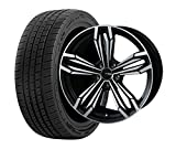 サマータイヤ・ホイール 1本セット 19インチ お勧め輸入タイヤ 215/35R19 + ANHELO CORAZON(アネーロコラソン)