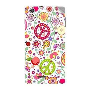 Garmor Designer Mobile Skin Sticker For Vivo X5 Pro - Mobile Sticker