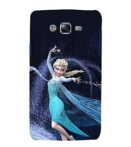 printtech Disneyy Ella Frozen Back Case Cover for Samsung Galaxy Core 2 G355H