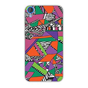 Designer Cute Phone Cases for HTC 820-Triangles
