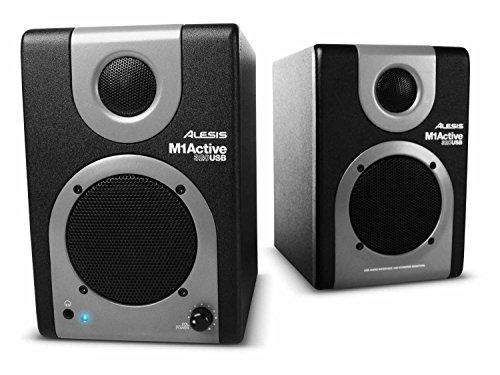 Alesis M1 320 Usb Studio Monitor Speakers - (Pair)