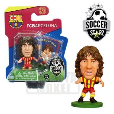 SoccerStarz FC Barcelona Carles Puyol Limited Edition Away Kit [UK IMPORT]