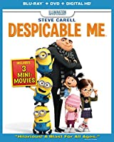 Despicable Me (Blu-ray Combo Pack (Blu-ray + DVD + Digital Copy + UltraViolet)) by Universal Studios