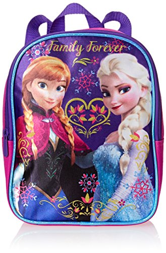 Disney Little Girls'  Frozen Anna Elsa Sisters Mini Backpack, Multi, One Size