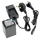 DSTE® VW-VBN390 Replacement Li-ion Battery + Charger DC126U for Panasonic HDC-SD800GK, HDC-TM900, HDC-HS900, HDC-SD900, HC-X900M Digital Cameras (Fully Decoded)