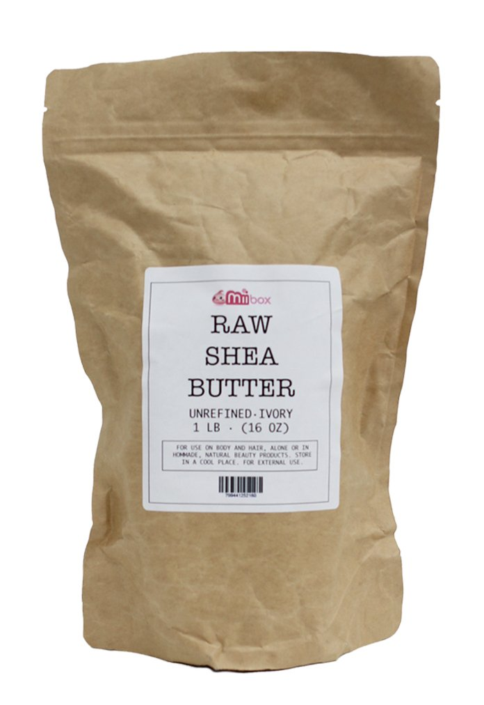 Amazon.com : 100% Pure Unrefined Raw SHEA BUTTER - (1 Pound) from ...
