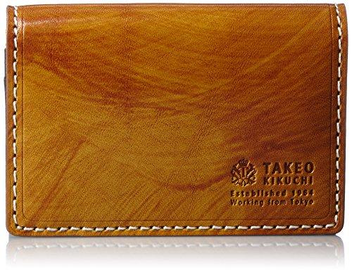 [タケオキクチ] TAKEO KIKUCHI(タケオキクチ) 名刺入れ ハンド 728609 CML (キャメル)