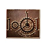 1001 Inventions Branded Brass Badge
