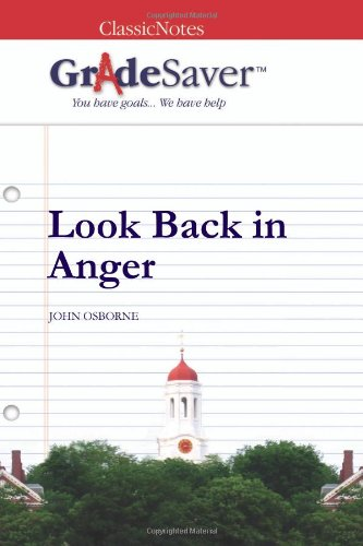 Look Back in Anger The Kitchen Sink Drama: Perspectives and ...