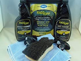 RaggTopp Vinyl Convertible Top Cleaner/Protectant Kit