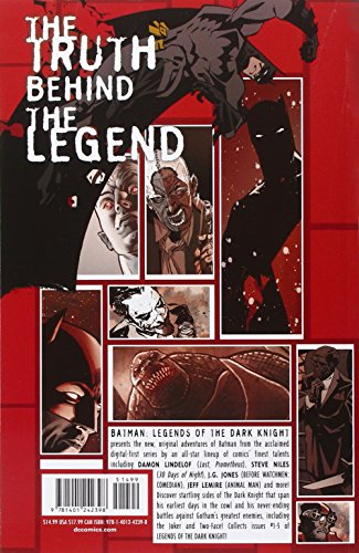 Batman Legends of the Dark Knight Volume 1 TP