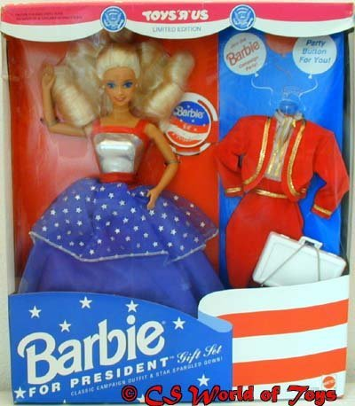 Barbie 1991 - Barbie for President - Gift Set - Exclusive - Limited Edition - OVP