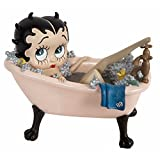 Betty Boop In Pink Bath Tub - Collectable Figurine