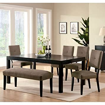 Bay Side 6-Piece Espresso Finish Dining Set