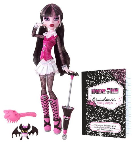Buy Low Price Mattel Monster High Draculaura Doll Figure (B0037V0PDG)