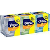 Kleenex Anti-Viral Facial Tissue Cube (21286), White, 3 Boxes / Bundle