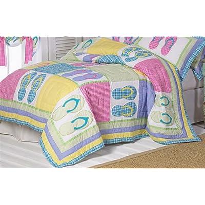 Amazon.com - Full/ Queen Size Summer Beach Sandal Bedroom