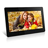 Aluratek ADMPF118F 18.5 Inch Digital Photo Frame with 4GB Built In Memory (Black)