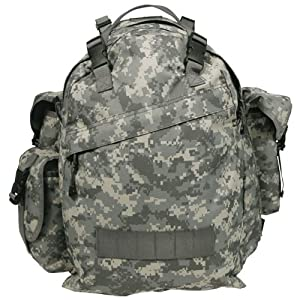US Patrol Rucksack Backpack Hiking 40L ACU Digital Camo from MFH