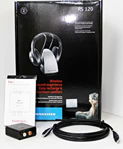 how to connect wireless sennheiser headphone to phone