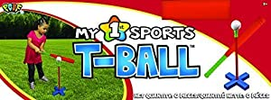 POOF-Slinky - My 1st T-Ball Set with Bat and Ball, 778BL by Poof (English Manual)