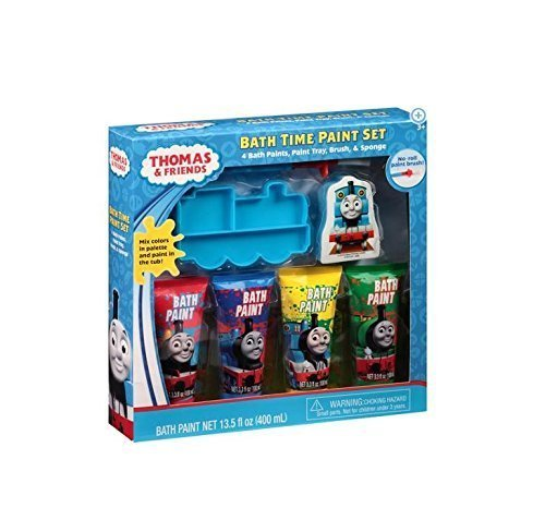 Thomas & Friends Bath Time Paint Set, 7 pc - 1