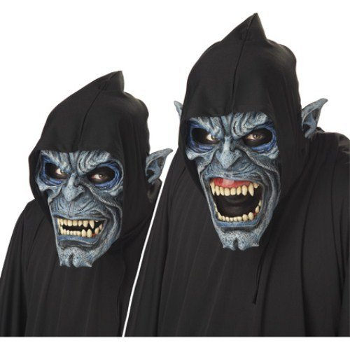 California Costume Collection - Night Stalker Ani-Motion Adult Mask