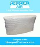 1 Honeywell HC-14N Humidifier Filter; Fits Honeywell QuietCare HCM-6009, HCM-6011i, HCM-6011WW, HCM-6012i & HCM-6013i; Compare to Part # HC-14N, HC14N; Designed & Engineered by Crucial Air