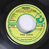 Pink Floyd 45 RPM Money / Any Colour You Like