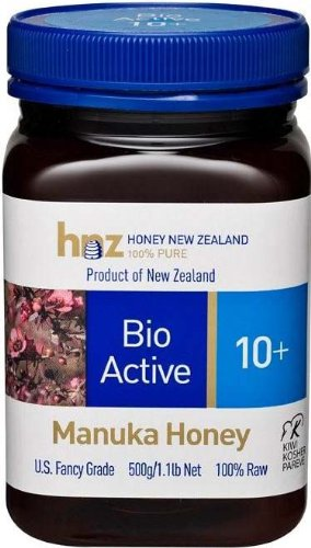 Manuka Honey Bio Active 10+, 1.1lb Jar