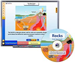 NewPath Learning Rocks Multimedia Lesson, Single User License, Grade 6-10