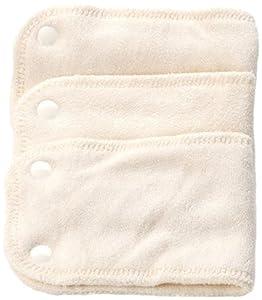 Bambinex - Pañal reutilizable con cierre de corchetes (elástico, talla 2, de 10 a 20 kg) en BebeHogar.com