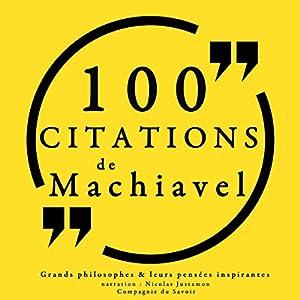 Philosophie pour tous : 100 citations de Machiavel | Livre audio