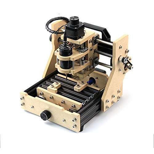 SUNWIN Mini Mill CNC Laser DIY Desktop 3 Axis Engraving Milling Machine Wood PCB Rubber (with500mW laser) (Pcb Cutter compare prices)