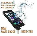 iPhone 6 Bike Mount Waterproof, JEBSENS WPI6 iPhone 6 / iPhone 6S Waterproof Shock-Protected Bike Holder Mount