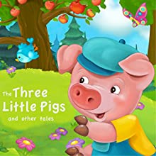The Three Little Pigs and Other Tales Audiobook by Flora Annie Steel,  Brothers Grimm, Andrew Lang Narrated by Nicki White, Matt Stewart