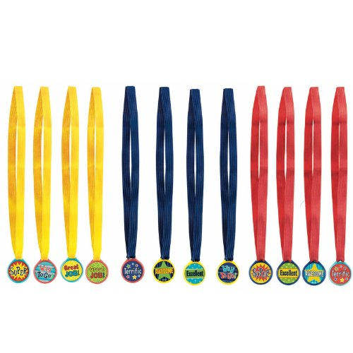 Amscan Award Medals Assorted (12) - 1
