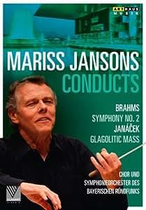 Brahms/ Janacek: Jansons (Symphony No. 2/ Glagolitic) [Mariss Jansons, Tatiana Monogarova] [Arthaus: 101684] [DVD] [NTSC] [2013]