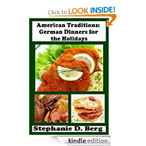 American Traditions: German Dinners for the Holidays