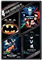 Batman Collection: 4 Film Favorites (Batman 1989 / Batman Returns / Batman Forever / Batman &amp; Robin)