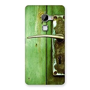 Impressive Classic Door Green Back Case Cover for LeTv Le Max