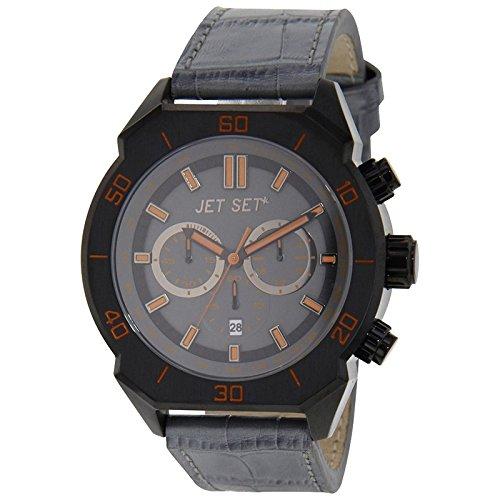 Jet Set Montre chronographe pour homme Prague gris/noir j7644b de 030
