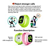 GBD-Children-Smart-Watch-Phone-for-Kids-with-GPS-Tracker-Fitness-SIM-Card-Pedometer-Anti-lost-SOS-Finder-Touch-Screen-Smartwatch-Wristband-Bracelet-for-Smartphone