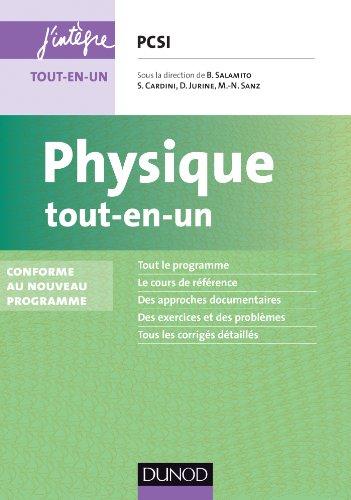Physique tout-en-un PCSI - 4e éd. - Conforme au nouveau programme gratuit