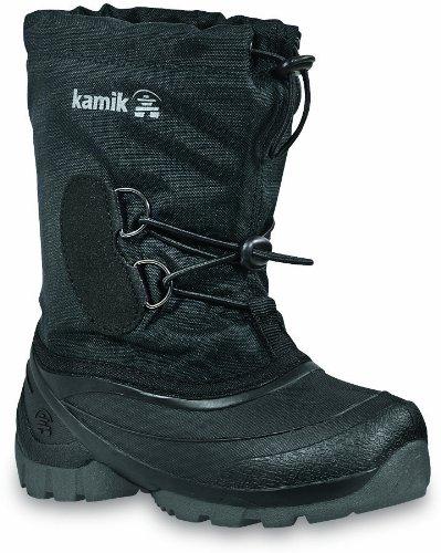 Kamik Southpole2 NK8859 Unisex-Kinder Stivali da neve, Nero (Schwarz (black BLK)), 26