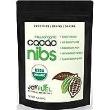 2LB Premium Raw Organic Cacao Nibs, Rich Dark Chocolate Taste - Healthy Chocolate Chip Substitute, 60-Day (Tamaño: 32oz)