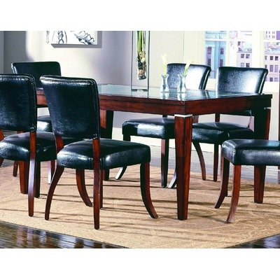 Cheap 712 Series Frosted Glass Top Dining Table in Cherry (B003UWIBP6)